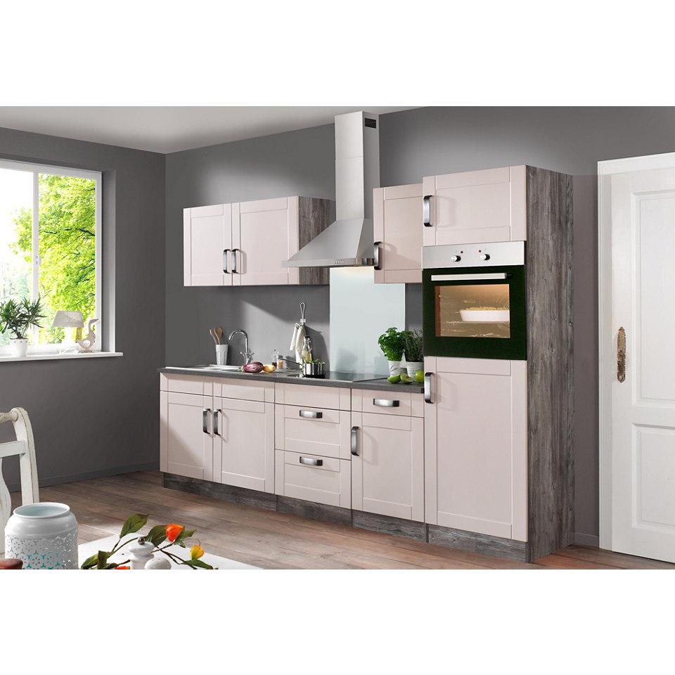 Küchenzeile »Columbia« mit E-Geräten - Breite 270 cm
