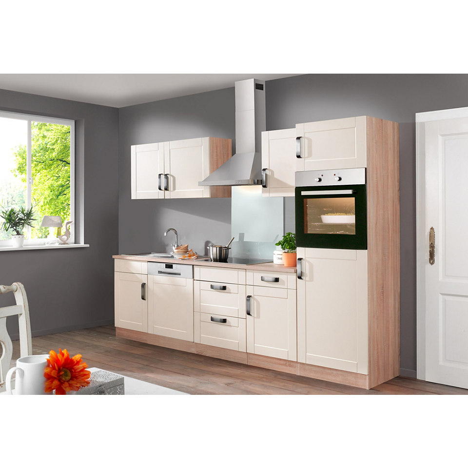 Küchenzeile »Columbia« mit E-Geräten - Breite 280 cm