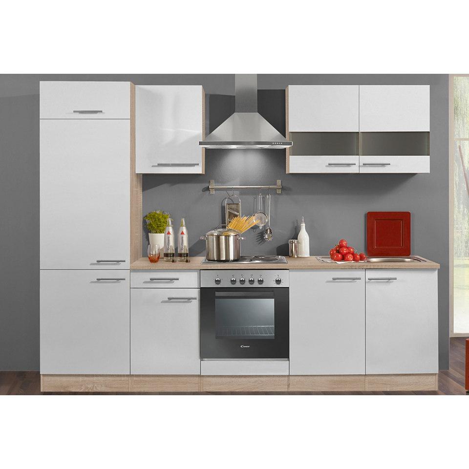 Küchenzeile »Dakar«, Breite 270 cm, inkl. Elektrogeräte - Set 1