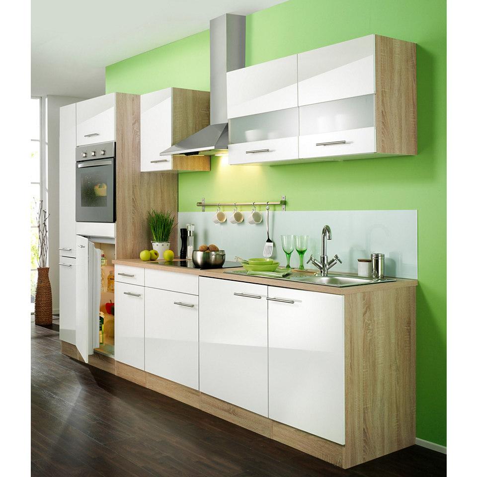 Küchenzeile »Dakar«, Breite 270 cm, inkl. autarken E-Geräten - Set 1