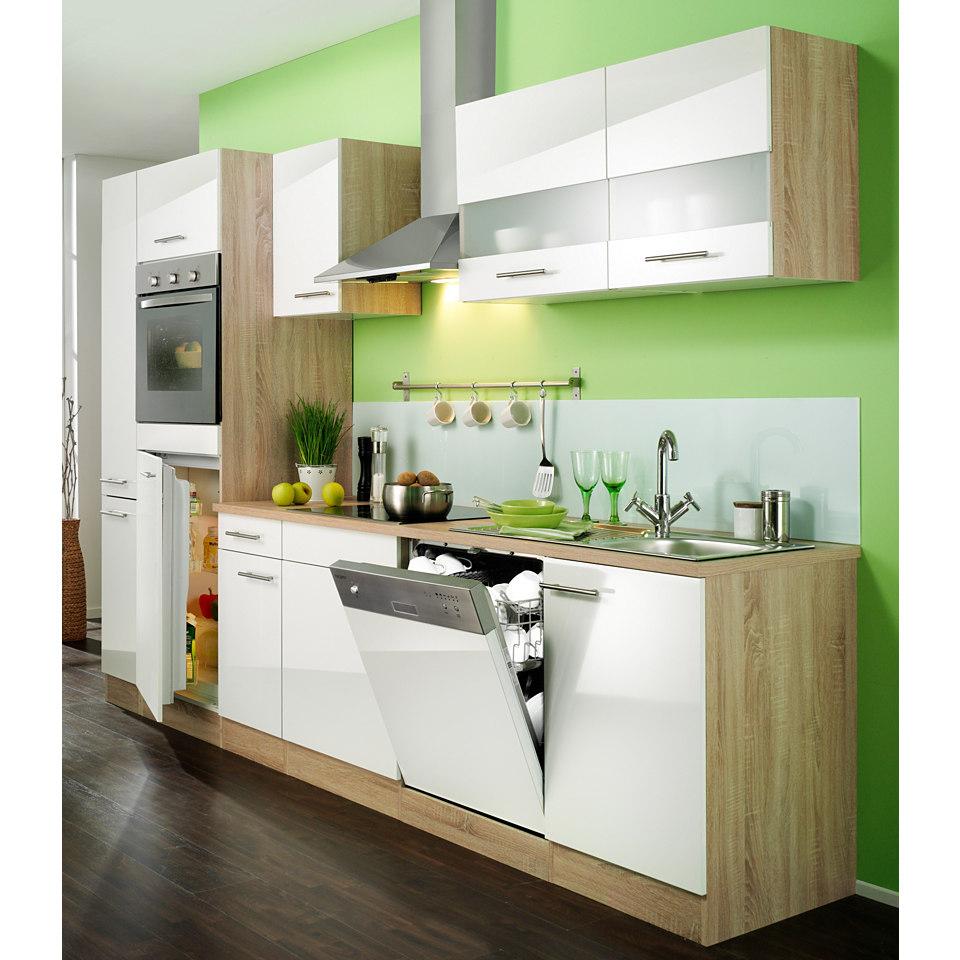 Küchenzeile »Dakar«, Breite 270 cm, inkl. autarken E-Geräten - Set 2