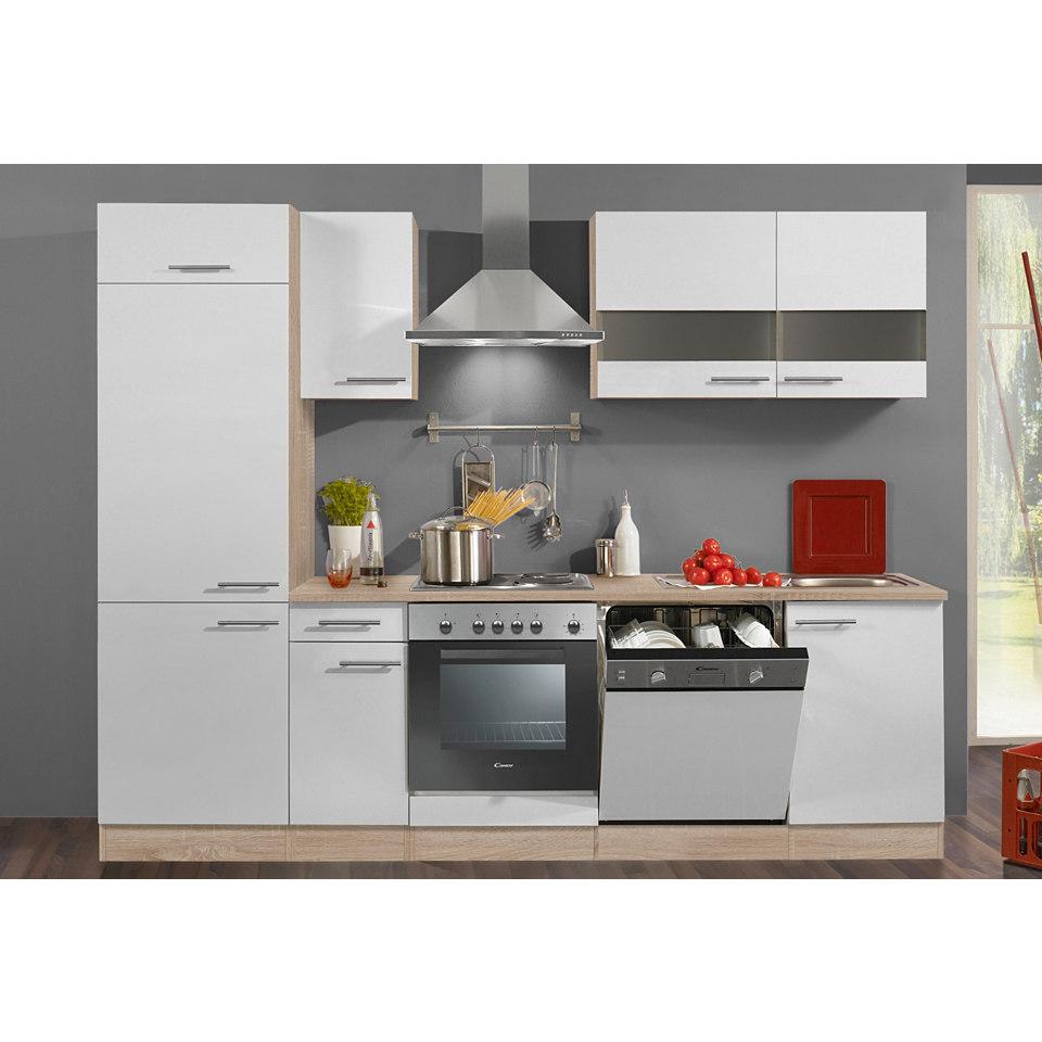 Küchenzeile »Dakar«, Breite 270 cm, ohne E-Geräte, geeignet für Geschirrspüler