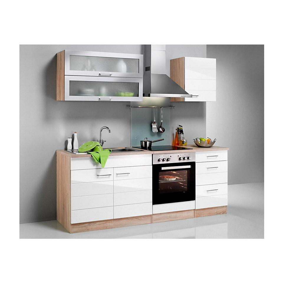 Küchenzeile »Emden«, Breite 210 cm