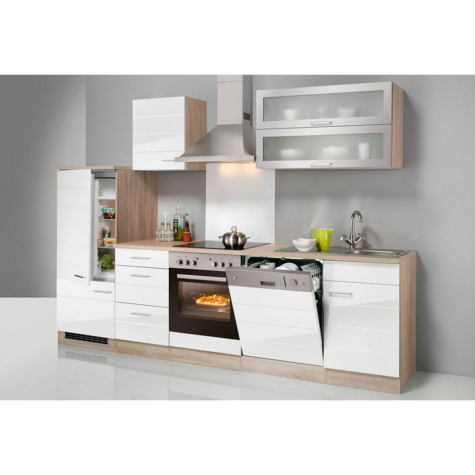 Küchenzeile »Emden«, Breite 280 cm