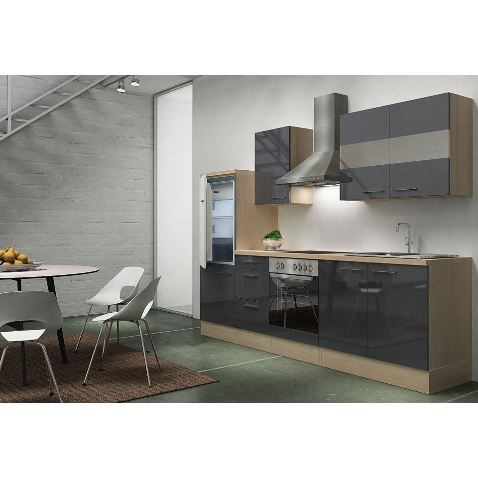Küchenzeile »Emily«, Breite 270 cm, Korpus Akazie Dekor, Set 1