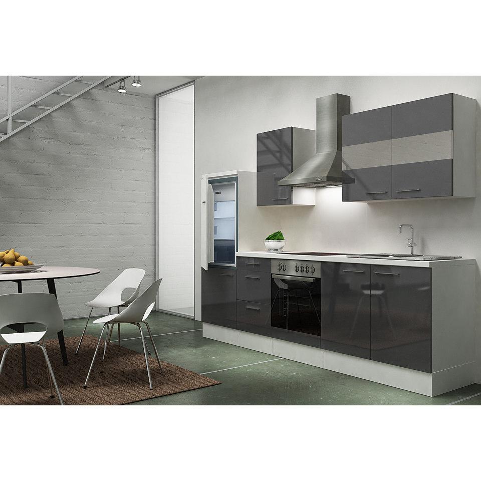 Küchenzeile »Emily«, Breite 270 cm, Korpus weiß, Set 1