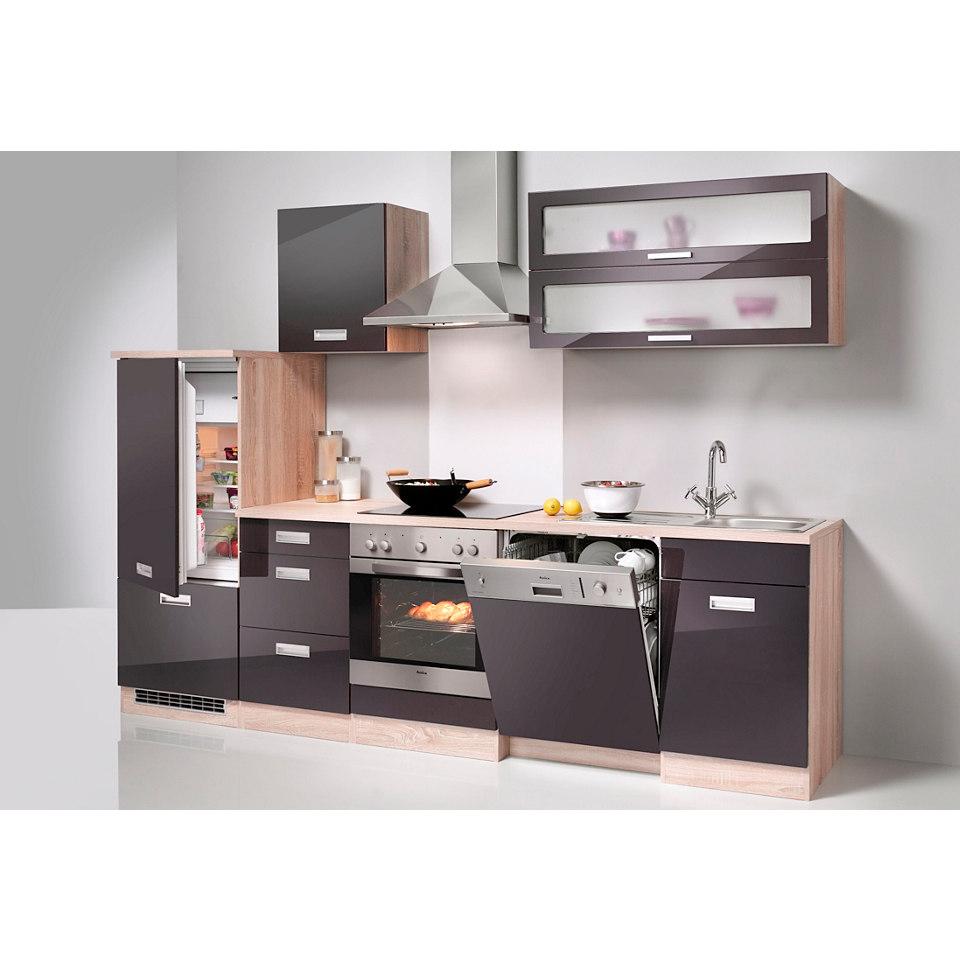 Küchenzeile »Fulda«, 280 cm, inkl. Elektrogeräte