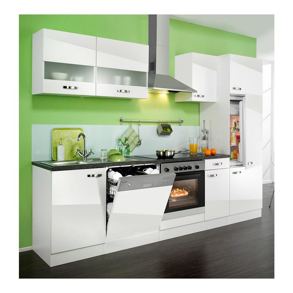 Küchenzeile »Lagos«, Breite 270 cm, inkl. Elektrogeräte - Set 2