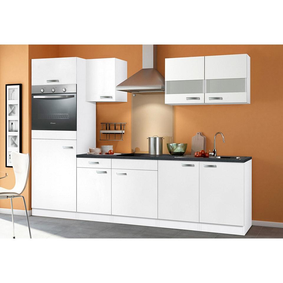 Küchenzeile »Lagos«, Breite 270 cm, inkl. autarken E-Geräten - Set 1