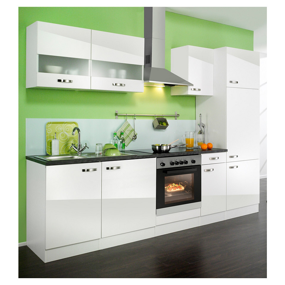 Küchenzeile »Lagos«, Breite 270 cm, ohne Elektro-Geräte - Set 1