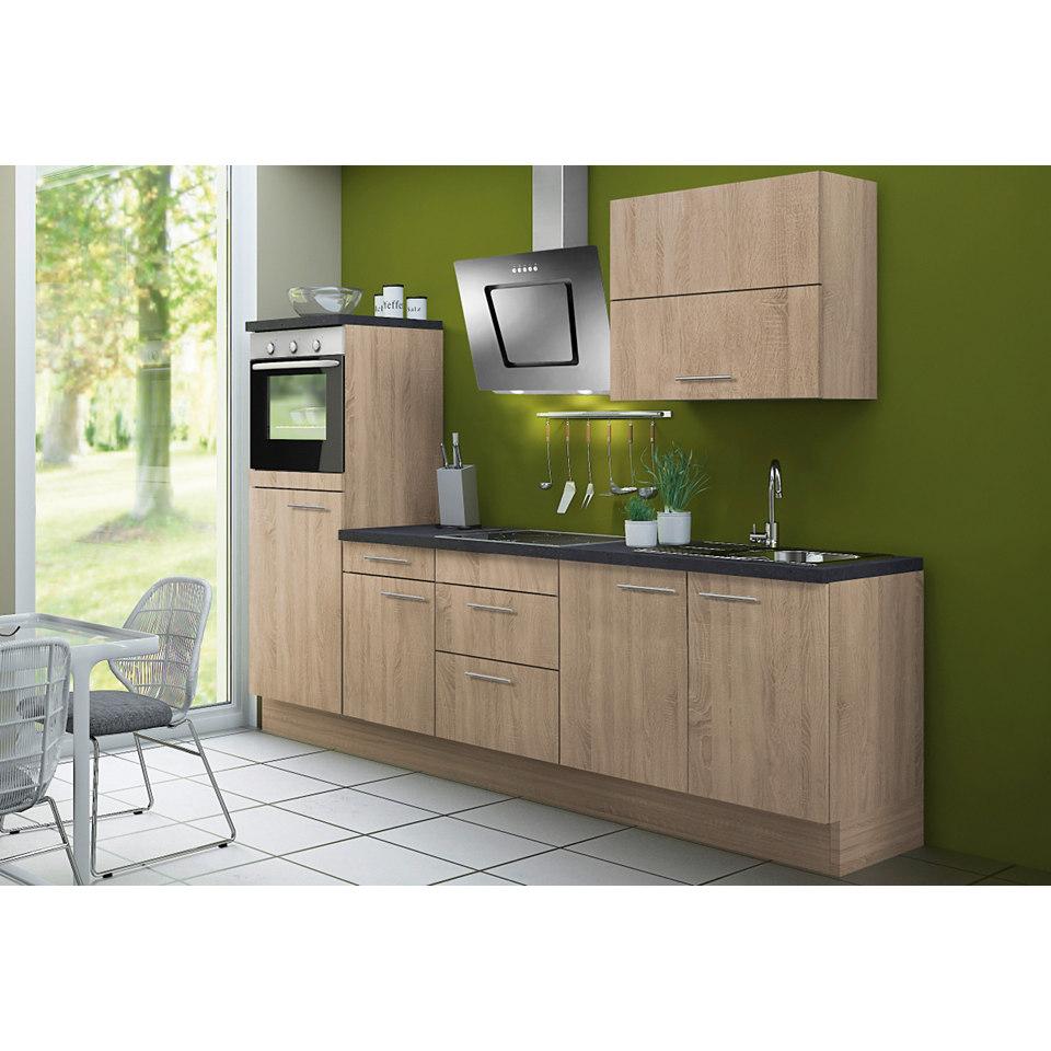 Küchenzeile Lasse & Torger, inkl. E-Geräte, Breite 270 cm - Set 1
