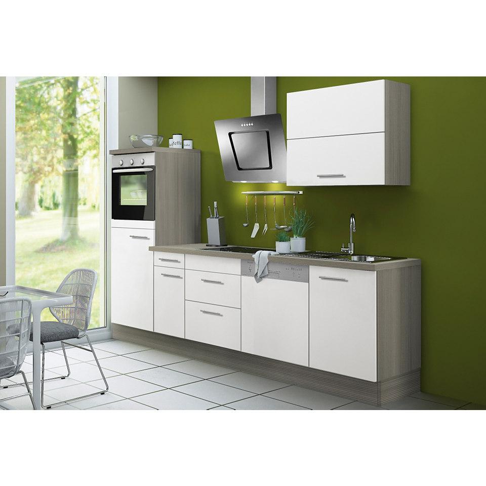 Küchenzeile Lasse & Torger, inkl. E-Geräte, Breite 270 cm - Set 2