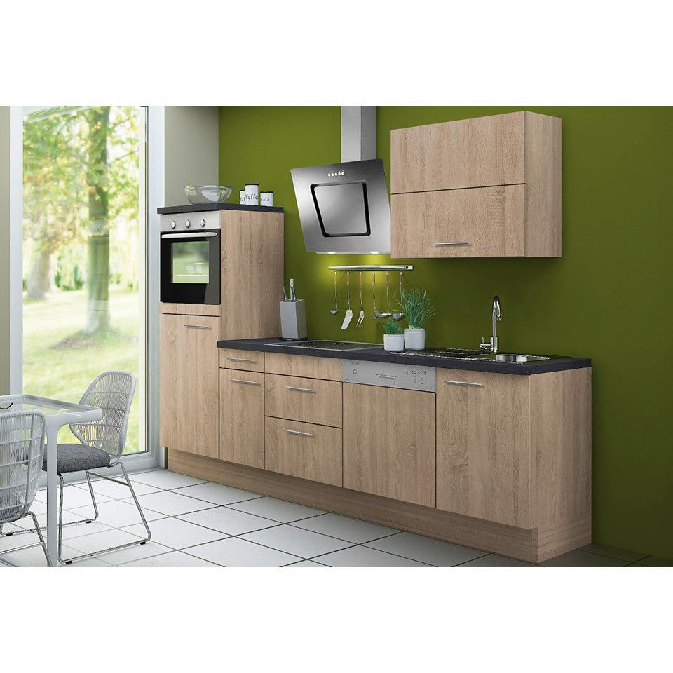 Küchenzeile Lasse & Torger, ohne E-Geräte, Breite 270 cm - Set 1