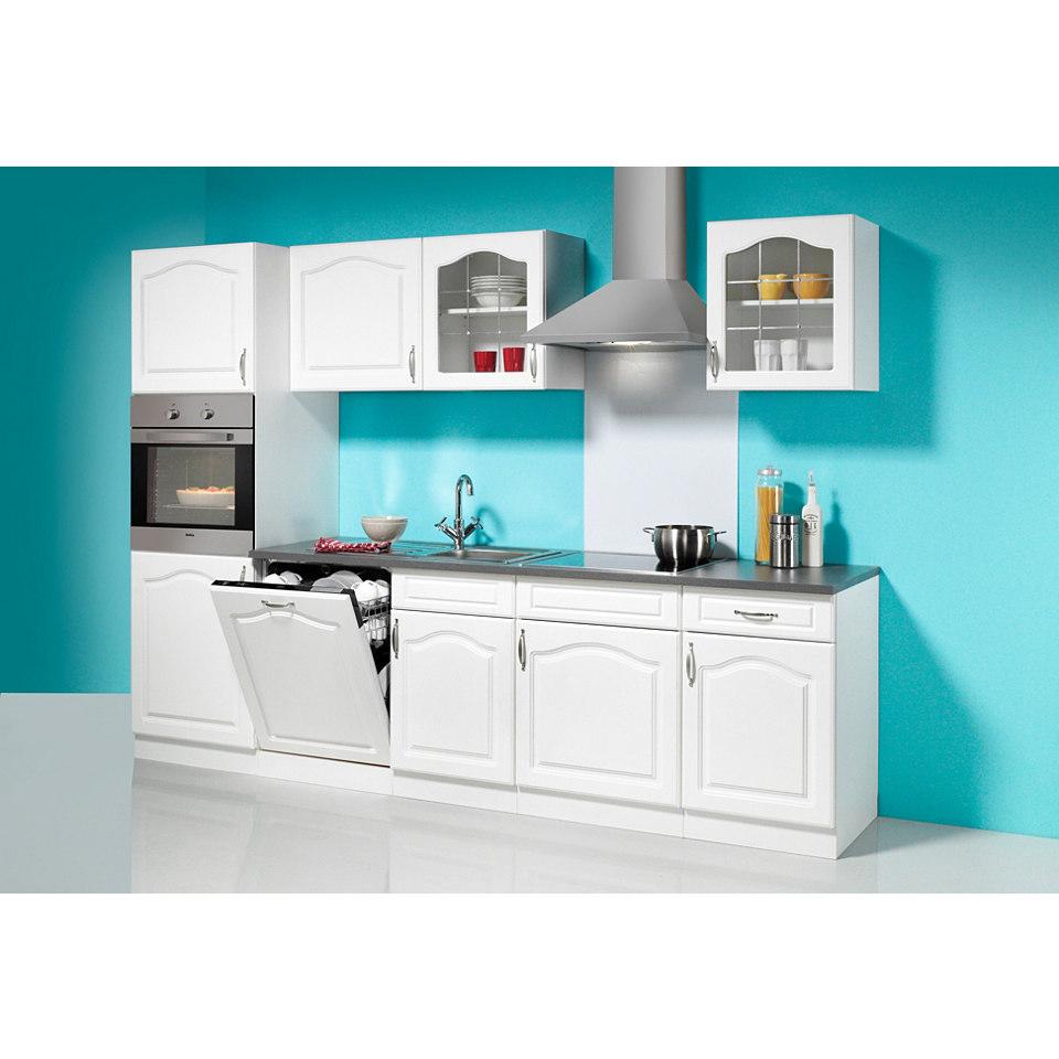 Küchenzeile »Lausanne«, Breite 280 cm, mit E-Geräten, Set D