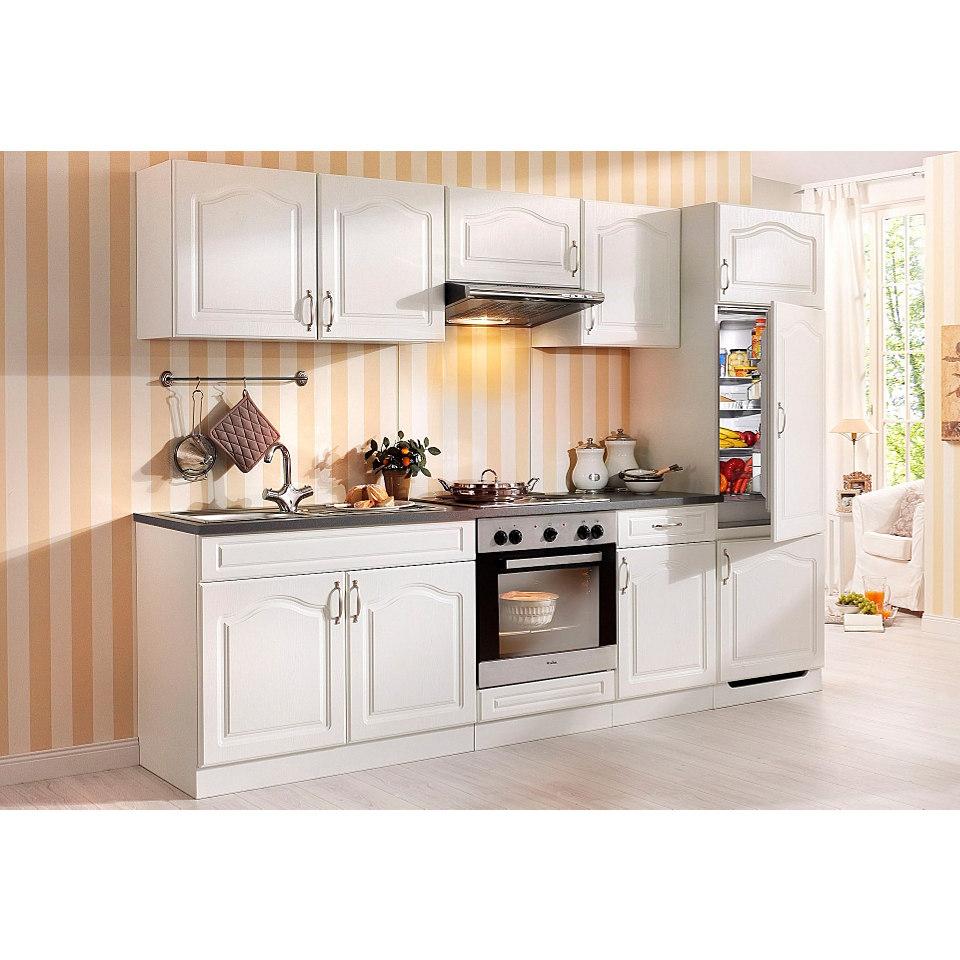 Küchenzeile »Lausanne« mit Elektrogeräten, Set A