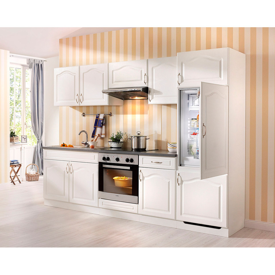 Küchenzeile »Lausanne« mit Elektrogeräten, Set B
