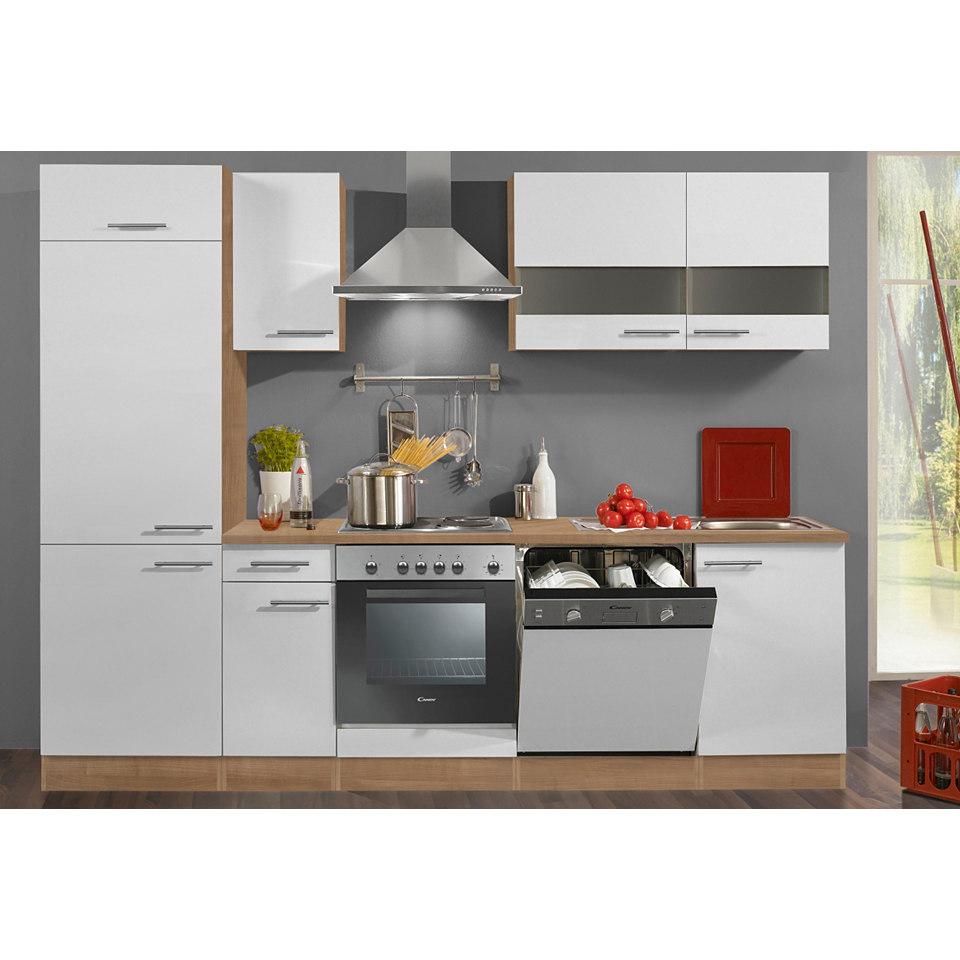 Küchenzeile »Madras«, Breite 270 cm, inkl. Elektrogeräte - Set 2
