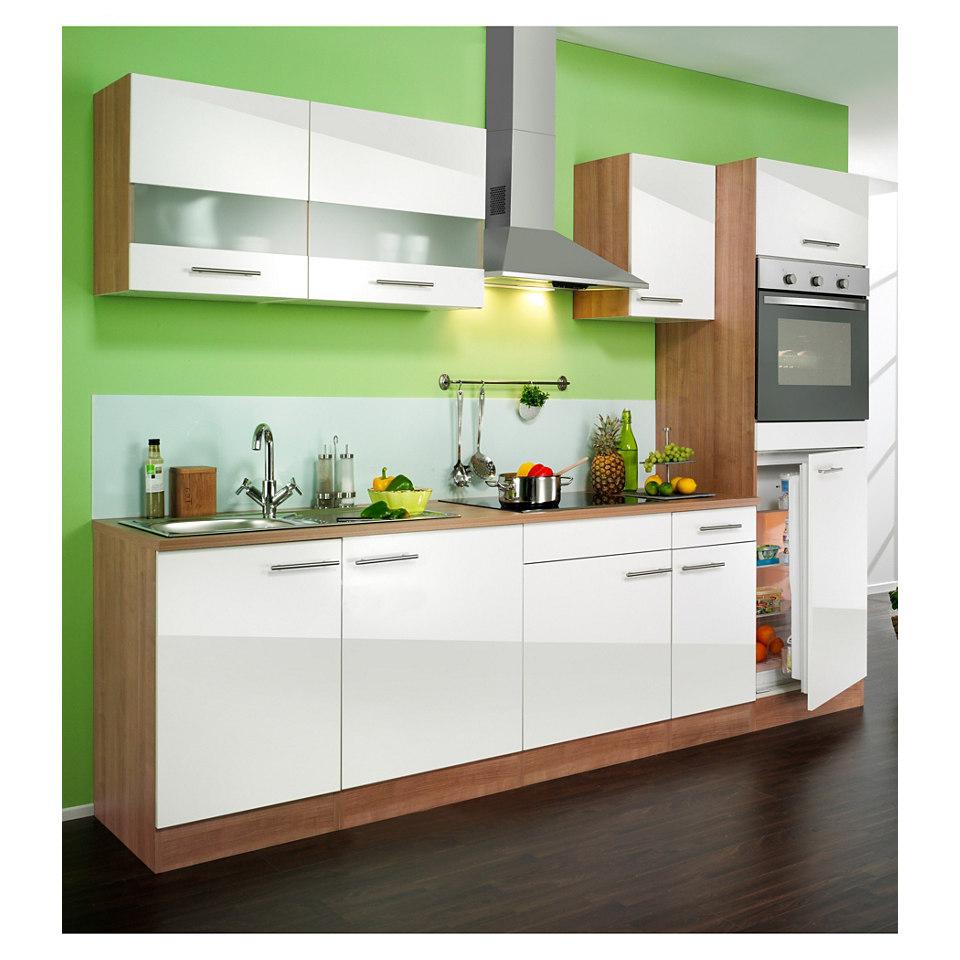 Küchenzeile »Madras«, Breite 270 cm, inkl. autarken E-Geräten - Set 1