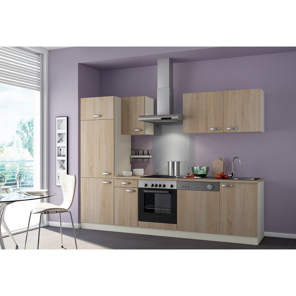 Küchenzeile »Padua«, Breite 210 cm, ohne Elektrogeräte , Set 2