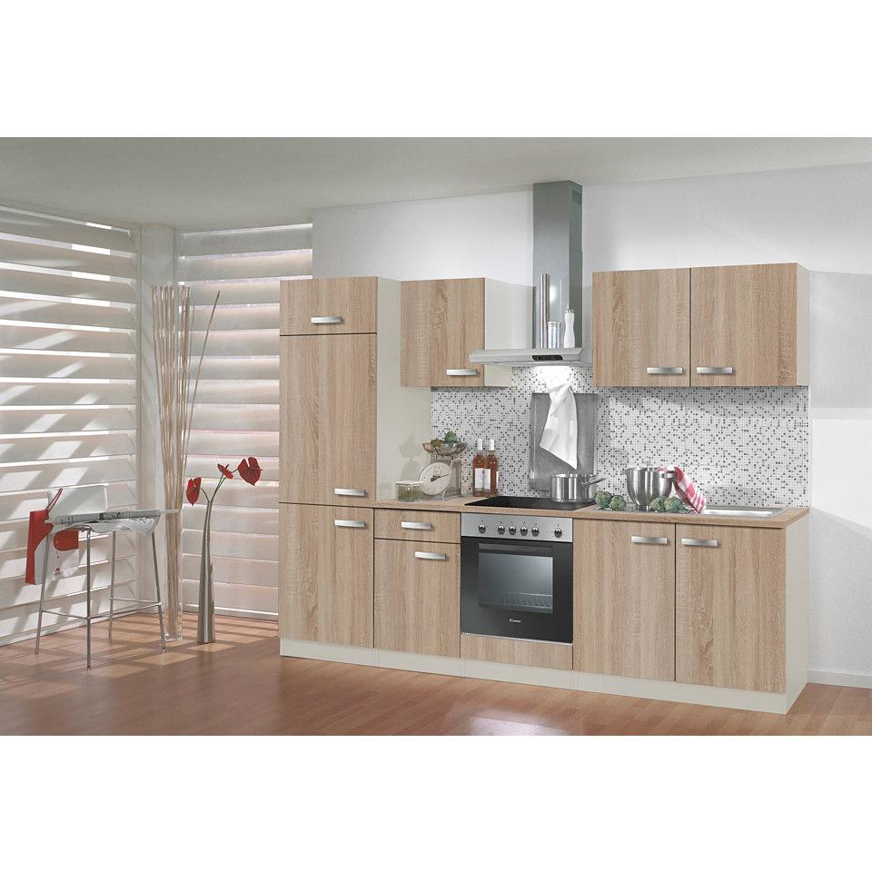 Küchenzeile »Padua«, Breite 210 cm, ohne Elektrogeräte, Set 1