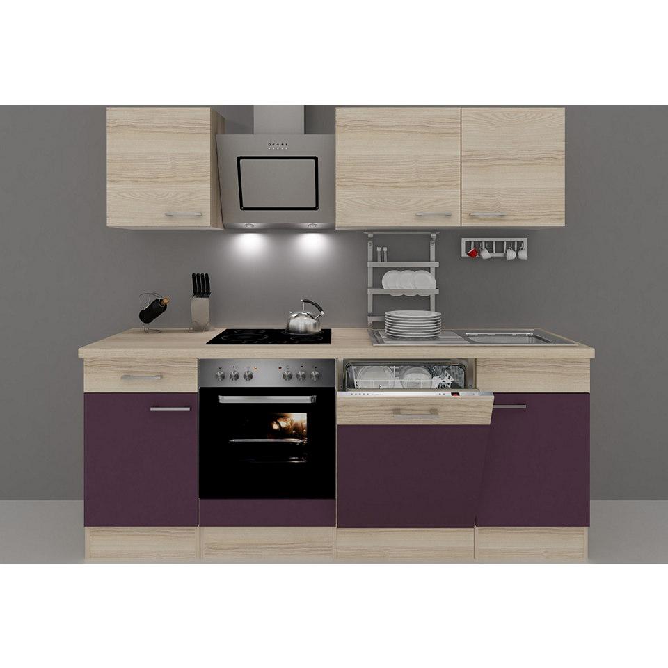 Küchenzeile »Portland«, Breite 220 cm, inkl. Elektrogeräte, Set 2