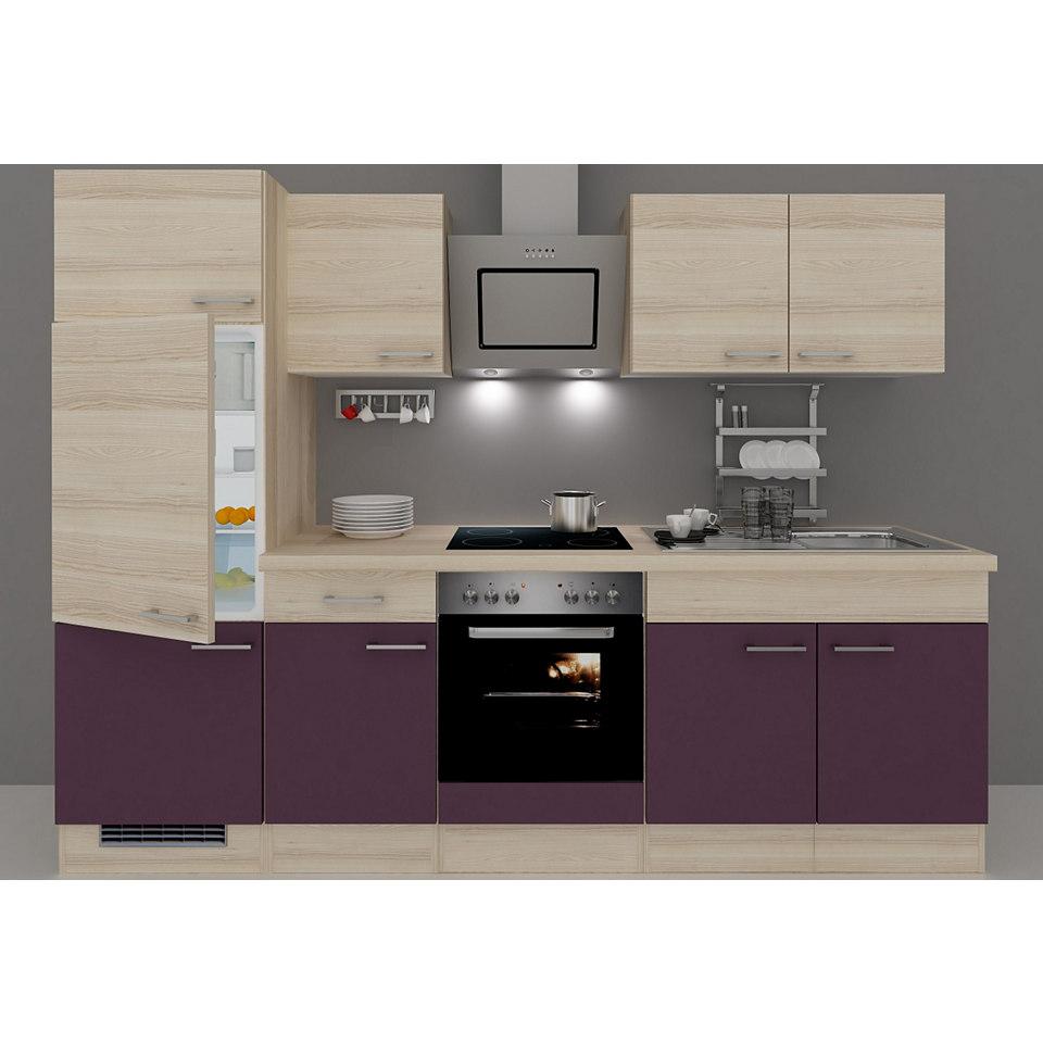 Küchenzeile »Portland«, Breite 270 cm, inkl. Elektrogeräte, Set 3