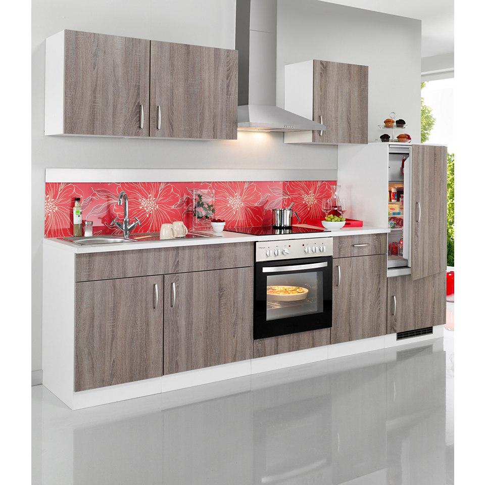 Küchenzeile »Porto«, Breite 270 cm, inkl. Elektrogeräte