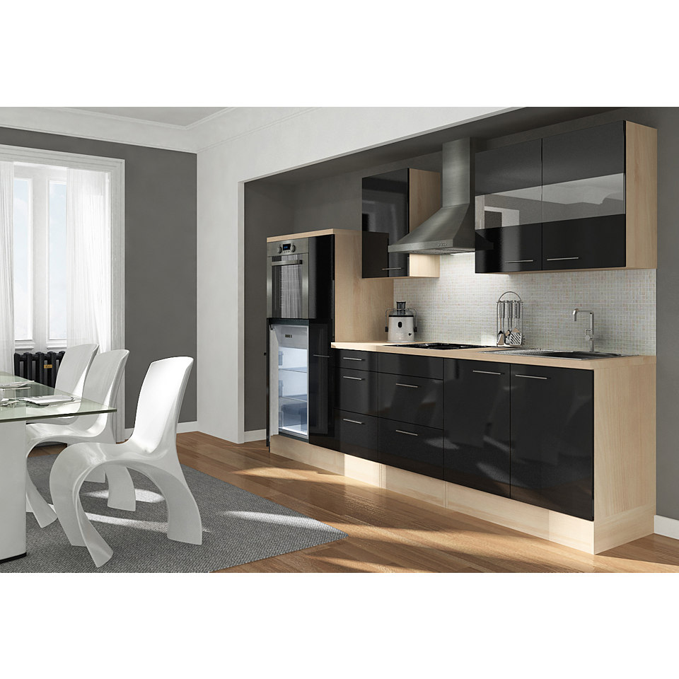 Küchenzeile »Premium«, Breite 300 cm