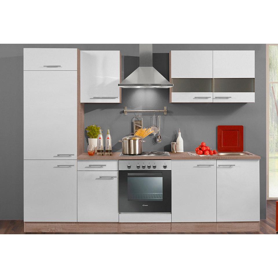 Küchenzeile »Rabat«, Breite 270 cm, ohne E-Geräte, Set 1