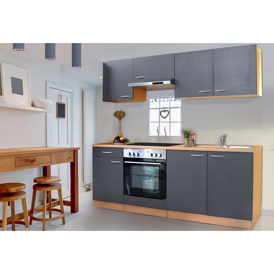 Küchenzeile Respekta Basic, Breite 210 cm