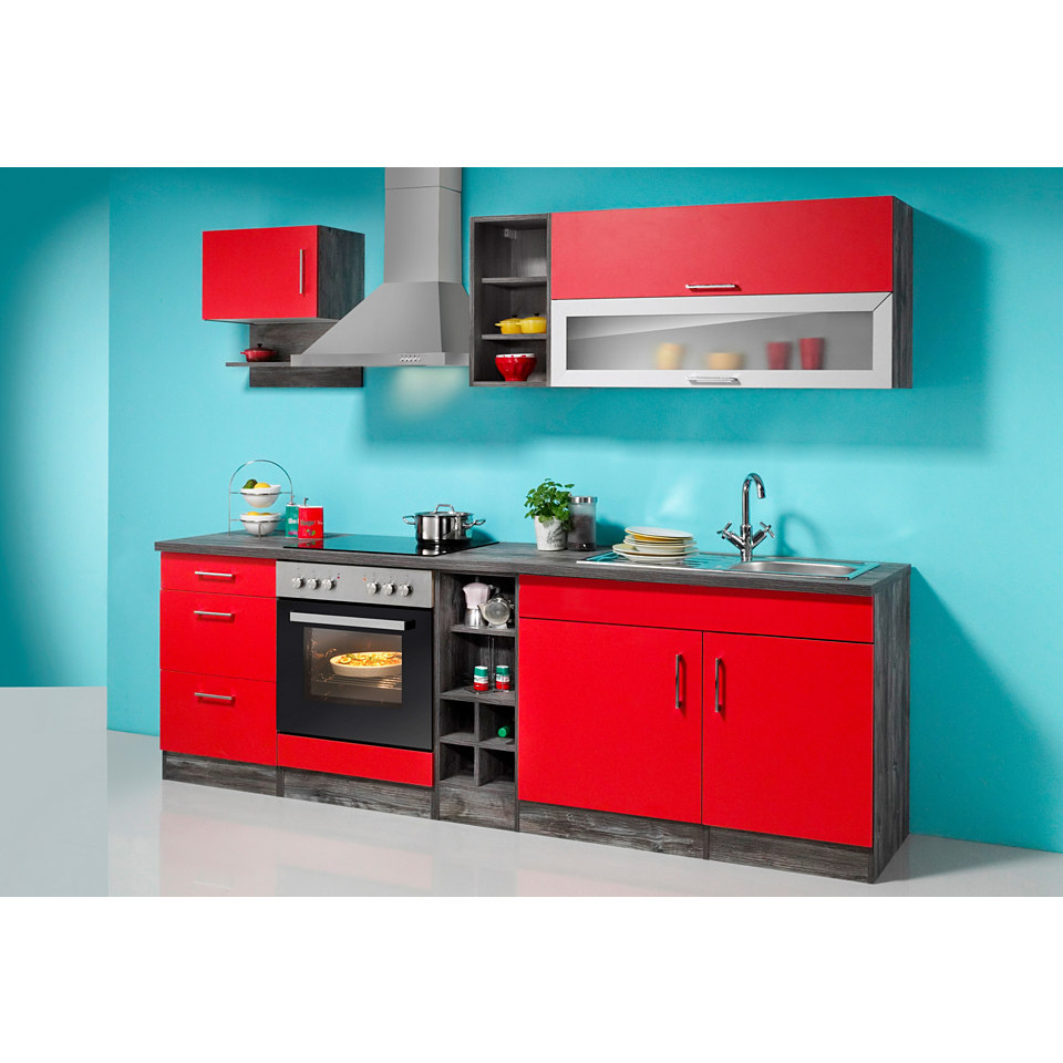 Küchenzeile »Sevilla« Set 1: 240 cm, mit Elektrogeräten