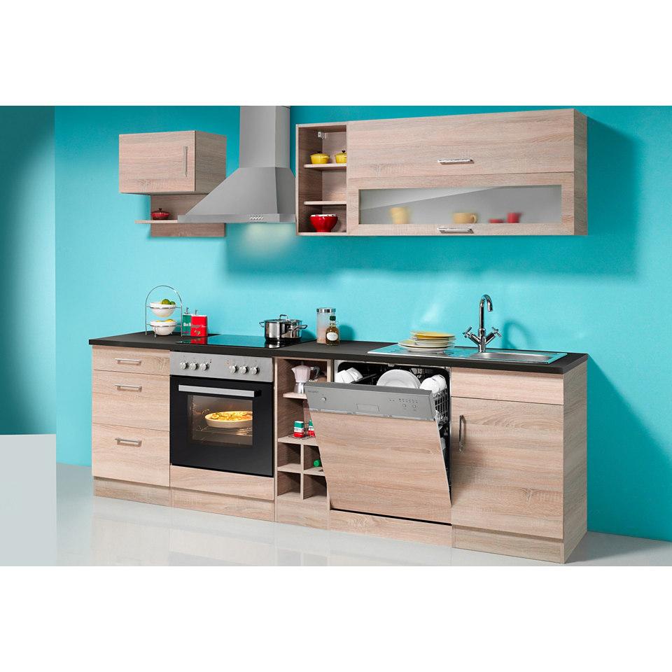 Küchenzeile »Sevilla« Set 2: 250 cm, mit Elektrogeräten