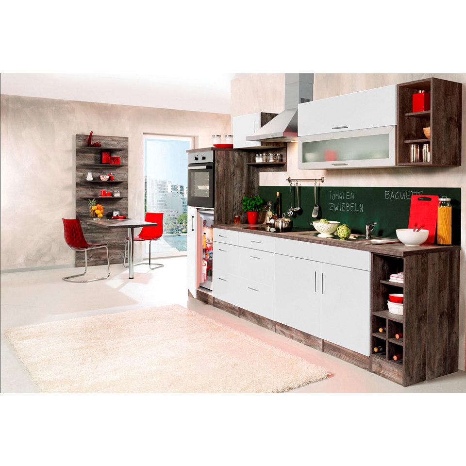 Küchenzeile »Sevilla« Set 3: 300 cm, mit Elektrogeräten
