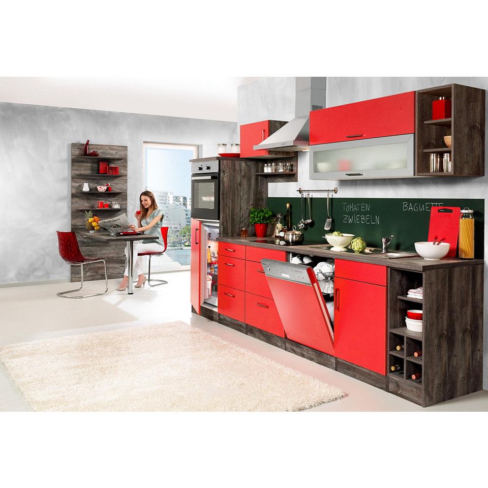 Küchenzeile »Sevilla« Set 4: 310 cm, mit Elektrogeräten
