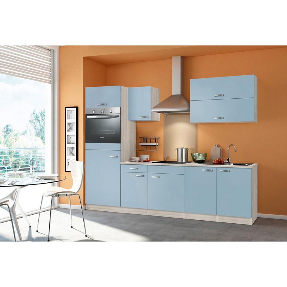 Küchenzeile »Skagen«, Breite 270 cm, inkl. Elektrogeräte, Set 1