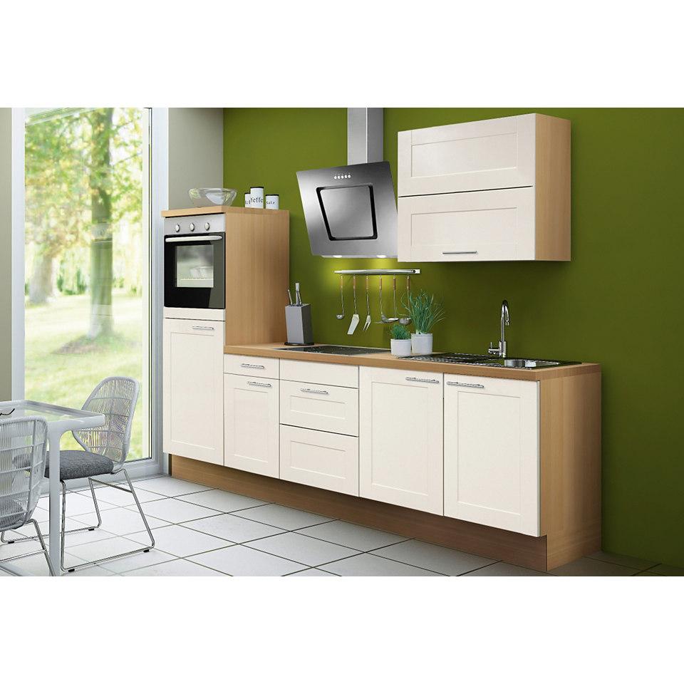 Küchenzeile Steen, inkl. E-Geräte, Breite 270 cm - Set 1