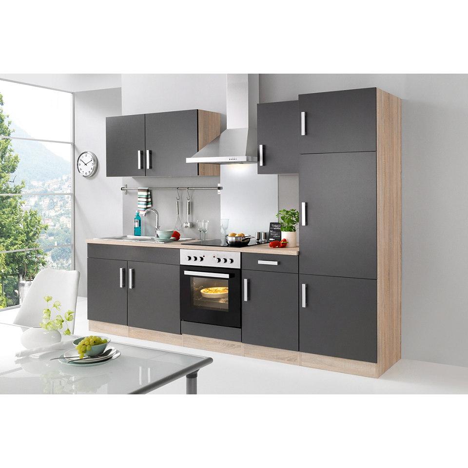 Küchenzeile »Toronto« mit E-Geräten, Gesamtbreite 270 cm