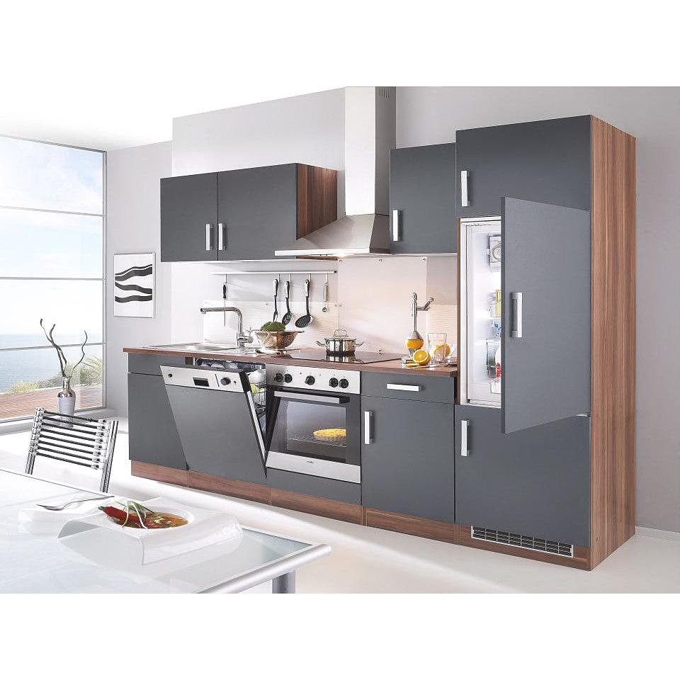 Küchenzeile »Toronto« mit E-Geräten, Gesamtbreite 280 cm