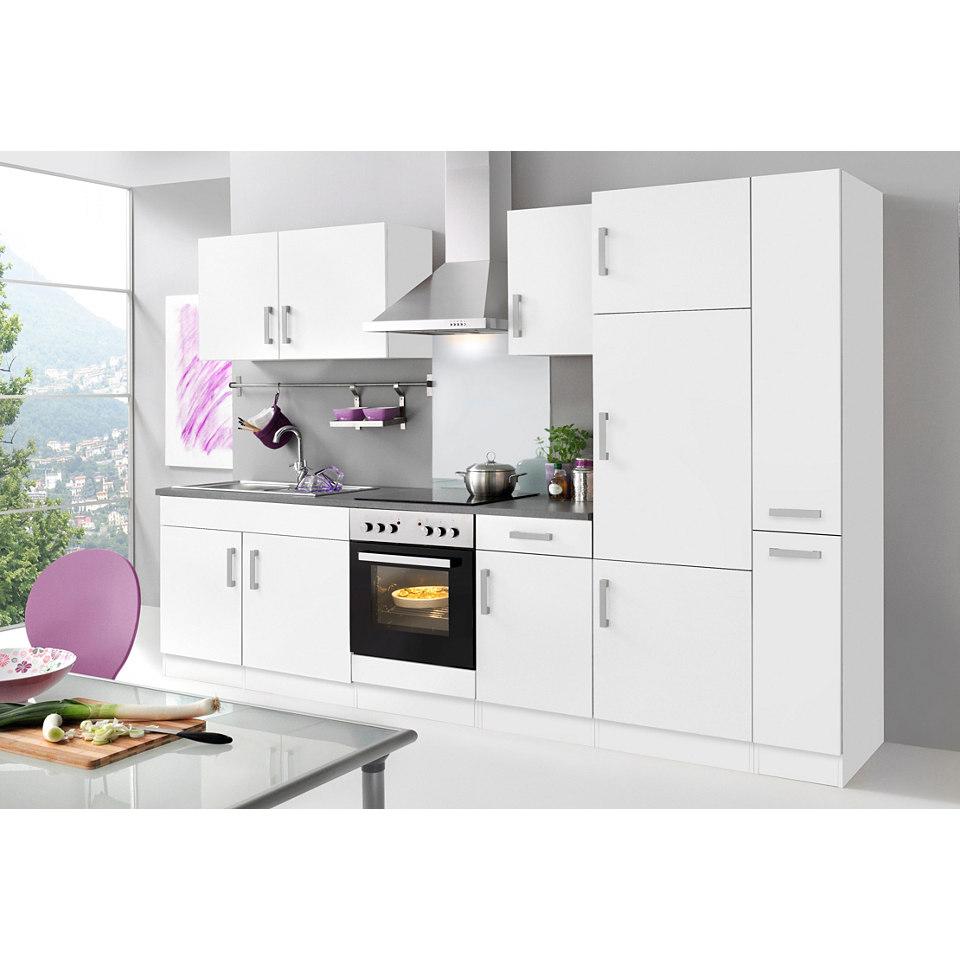 Küchenzeile »Toronto« mit E-Geräten, Gesamtbreite 300 cm