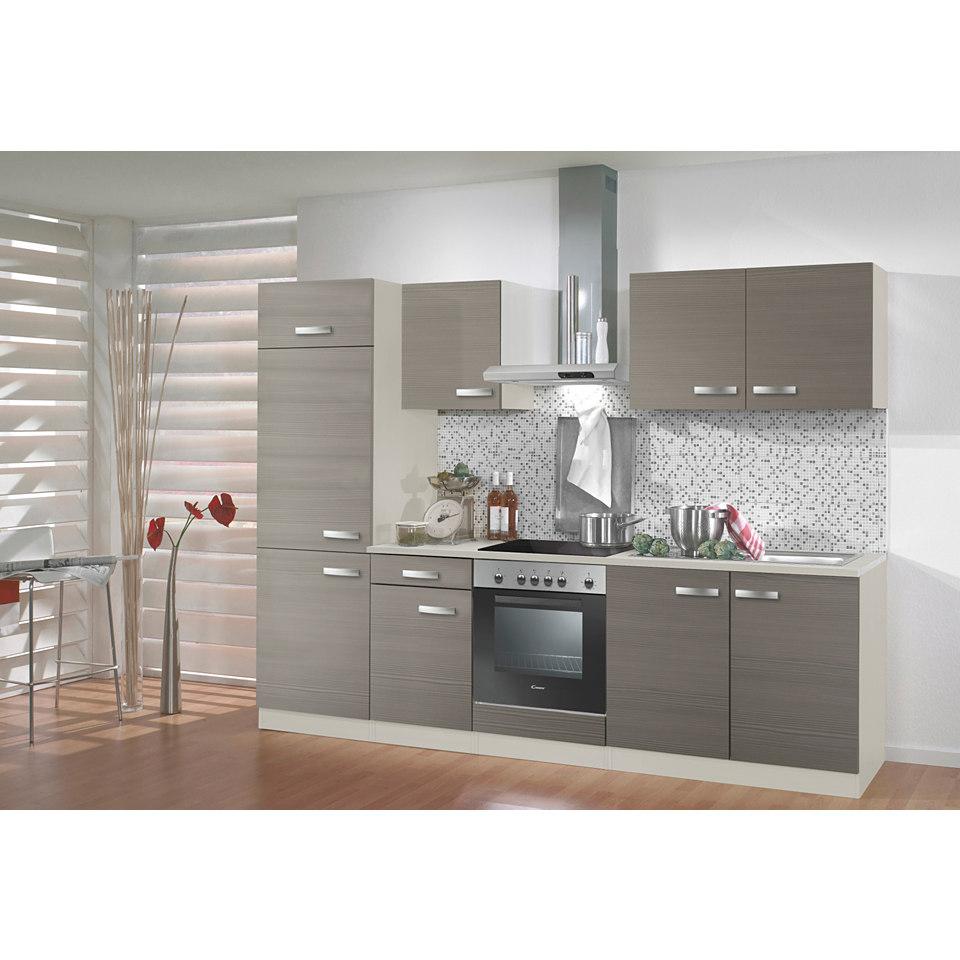 Küchenzeile »Vigo«, Breite 210 cm, inkl. Elektrogeräte, Set 1