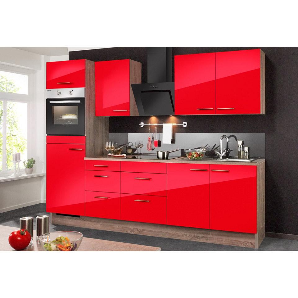 Küchenzeile, inkl. Elektrogeräte »KNUD«, Breite 270 cm Set 1