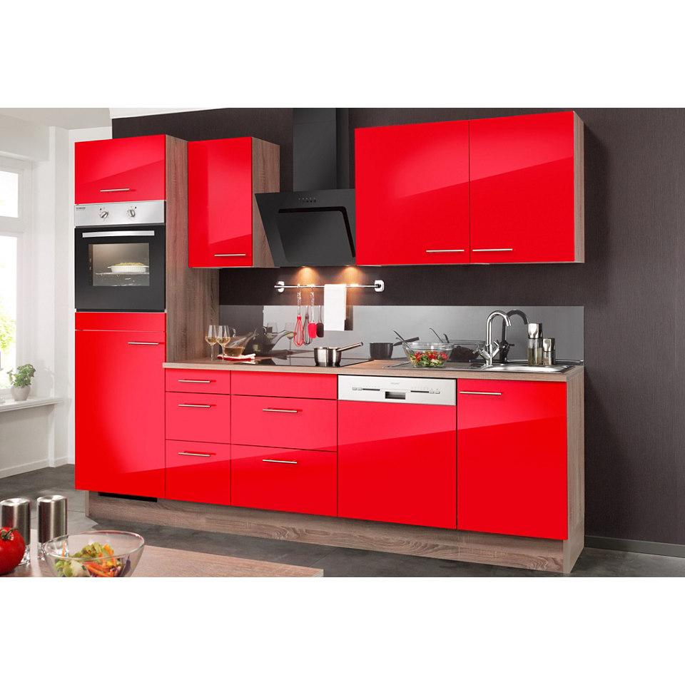 Küchenzeile, inkl. Elektrogeräte »KNUD«, Breite 270 cm Set 2