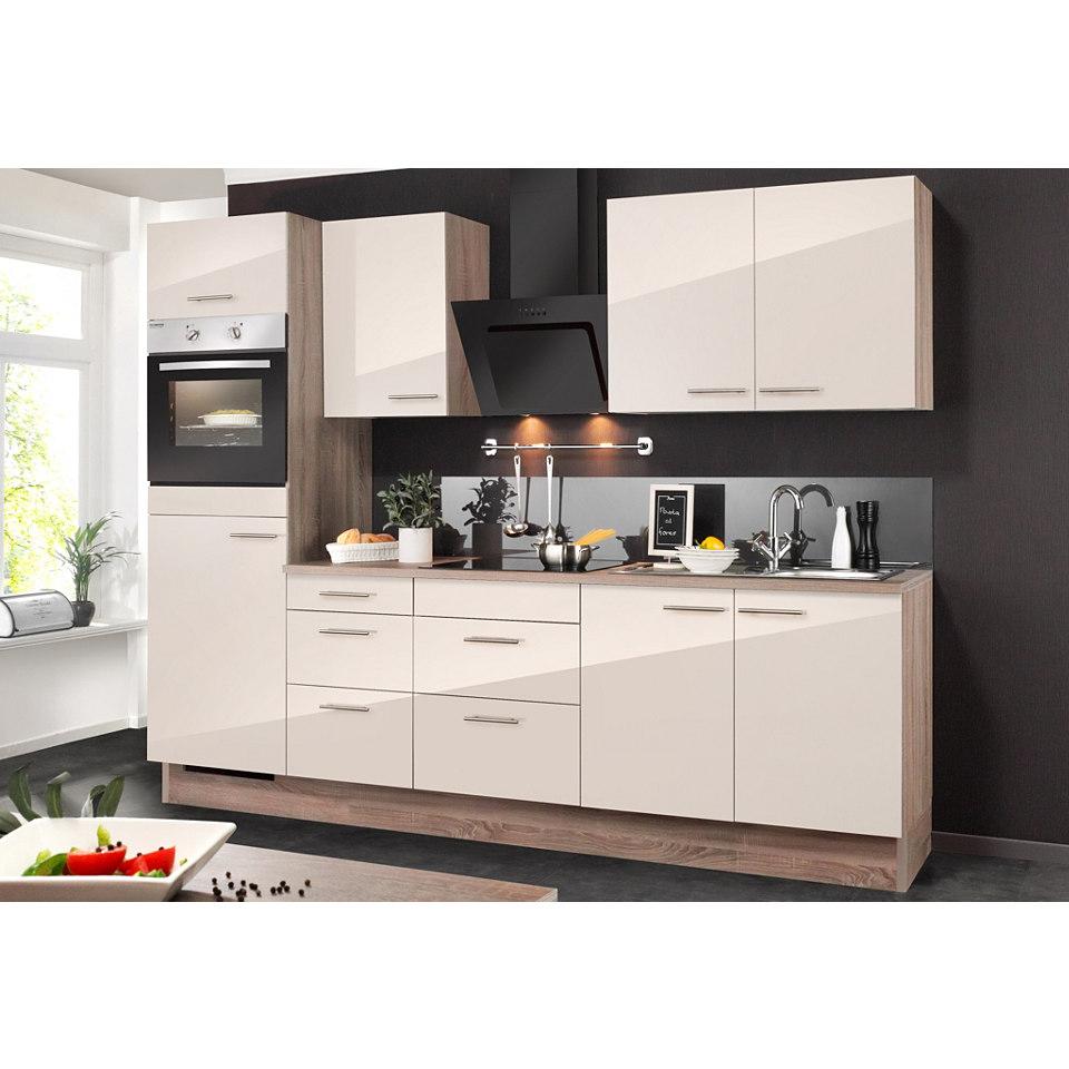 Küchenzeile, inkl. Elektrogeräte »MIKA«, Breite 270 cm Set 1
