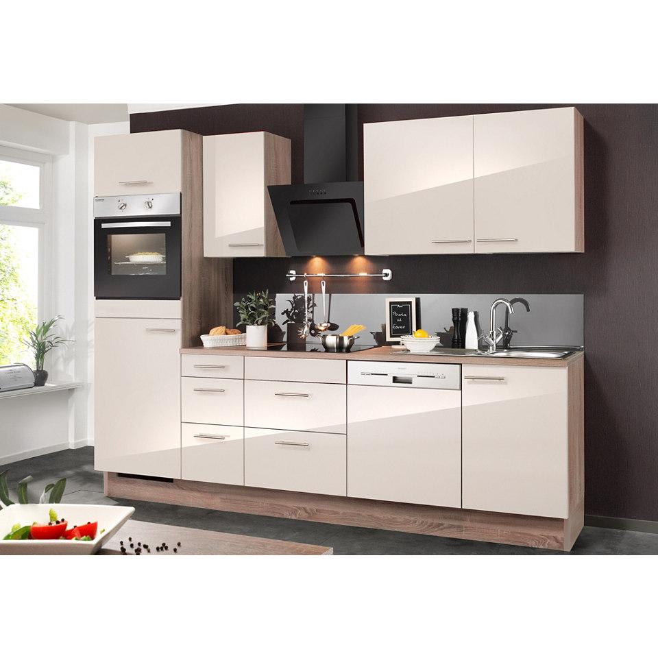 Küchenzeile, inkl. Elektrogeräte »MIKA«, Breite 270 cm Set 2