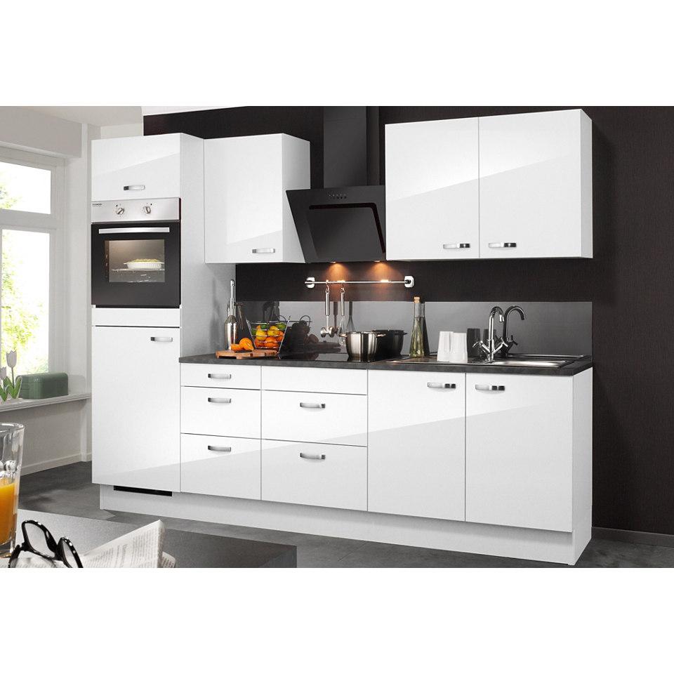 Küchenzeile, inkl. Elektrogeräte »OLE«, Breite 270 cm Set 1