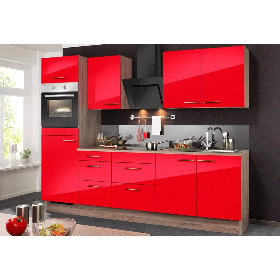 Küchenzeile, ohne Elektrogeräte »KNUD«, Breite 270 cm Set 1