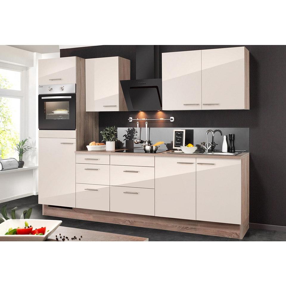 Küchenzeile, ohne Elektrogeräte »MIKA«, Breite 270 cm Set 1