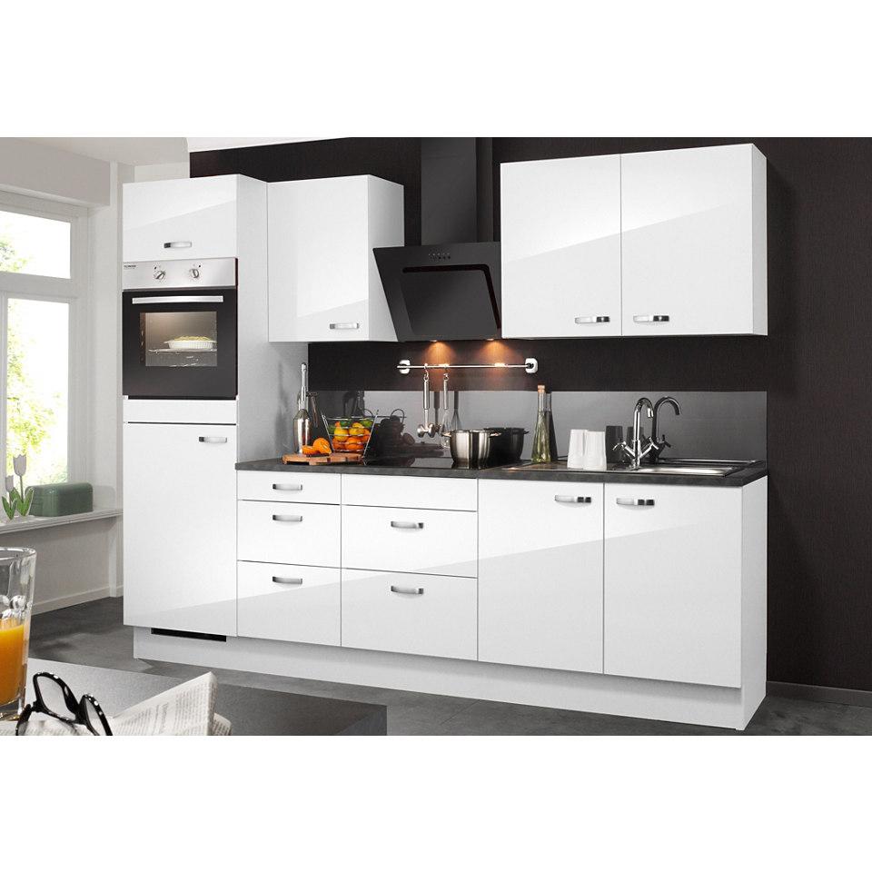 Küchenzeile, ohne Elektrogeräte »OLE«, Breite 270 cm Set 1
