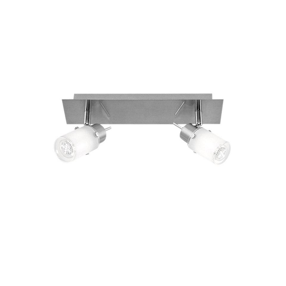 LED-Deckenlampe, Leuchten Direkt (2flg.)