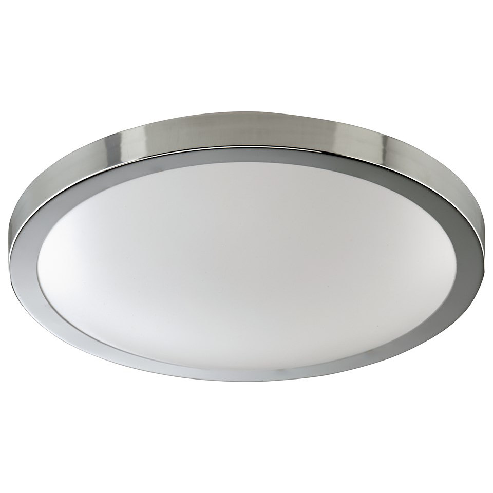 LED Deckenlampe in chrom, 25 LED